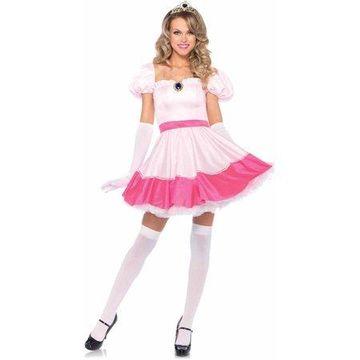 Leg Avenue Women's Pink Princess Costume, Small, Pink