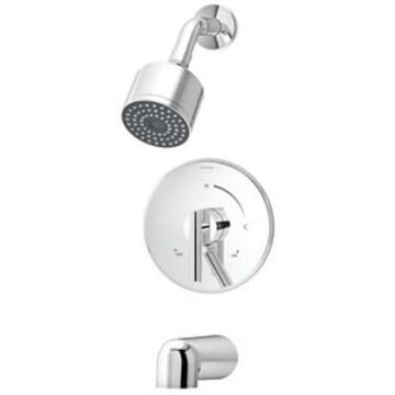 Symmons S-3502-CYL-B-TRM Dia Tub and Shower Trim Only Package