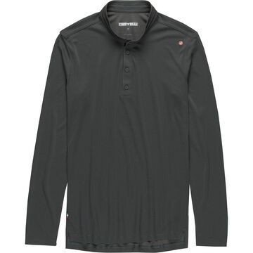 Castelli Tech Long-Sleeve Henley - Men's