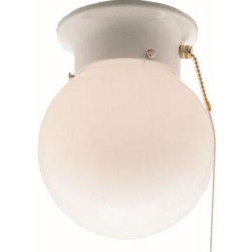 Volume Lighting 1-Light Mini Flush Mount Ceiling Fixture