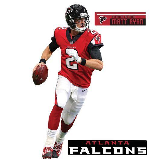 Atlanta Falcons Matt Ryan Fathead 3