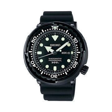 Seiko SBBN035 Presage Black Dial Watch