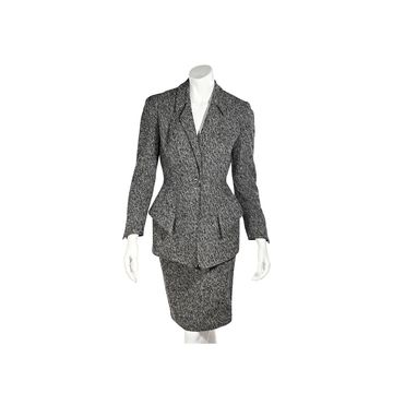 Thierry Mugler Grey Wool Jackets