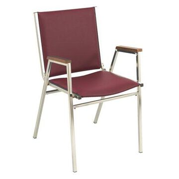 KFI 411 Stacking Chair - Multiple Colors - 1in Thick Seat