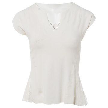 Issey Miyake White Cotton Tops