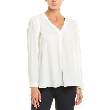 Nanette Lepore Womens Silk Top