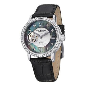 Stuhrling Original Women's Memoire Automatic Leather Strap Watch (Stuhrling Original Women's Watch)