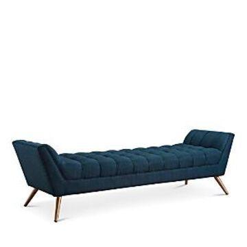 Modway Response Large Upholstered Large Fabric Bench