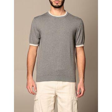 Eleventy crewneck sweater in cotton