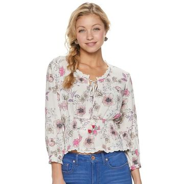 Juniors' American Rag Sweetheart Blouse