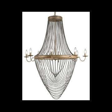 Currey and Company 9412 Lucien 8 Light 59