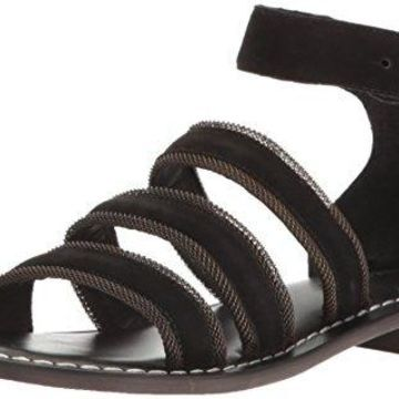 Bernardo Womens THEO Leather Open Toe Casual Ankle Strap
