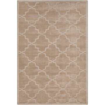 Artistic Weavers Central Park Abbey 4' x 6' Handcrafted Area Rug in Tan