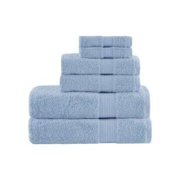 Madison Park Organic Cotton 6-Pc. Towel Set Bedding