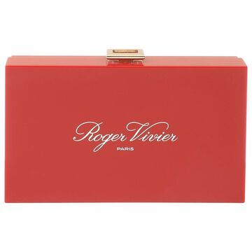 Roger Vivier Red Plastic Clutch bags
