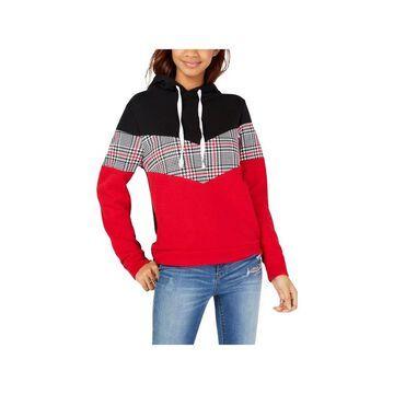 Ultra Flirt Womens Juniors Hoodie Color Knit - S