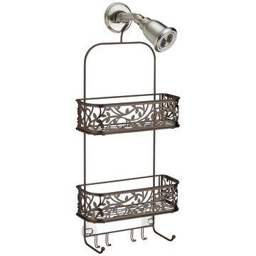 Bronze Vine Shower Caddy