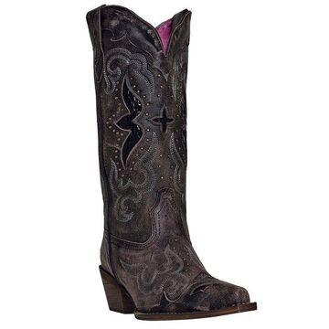 Laredo Leather Cowboy Boots - Lucretia