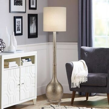 Catalina Lighting Hammered Floor Lamp