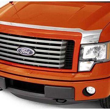 2015 Ford Transit AVS Chrome Aeroskin Hood Protector