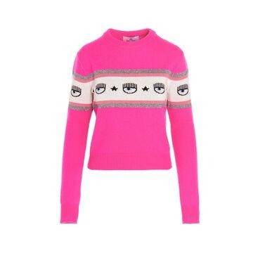 Chiara Ferragni maxi Logo Mania Sweater