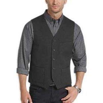 Joseph Abboud Charcoal Vest