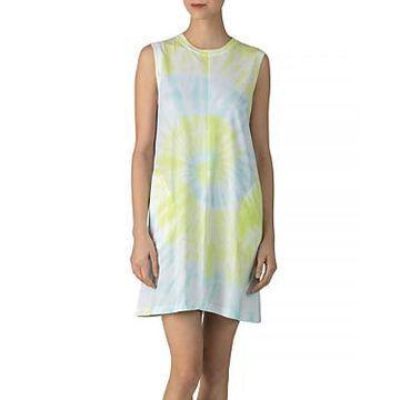 Atm Anthony Thomas Melillo Cotton Tie-Dyed Tank Dress
