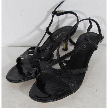 Vaneli Womens Merila Slingback Dress Sandal Shoes, Black Whips, US 6.5
