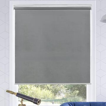 Chicology Cordless Roller Shade, Grey, 64X72