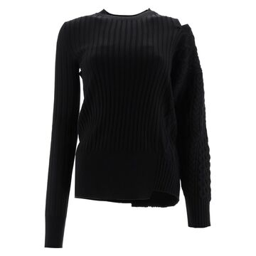Sacai Asymmetrical Sweater