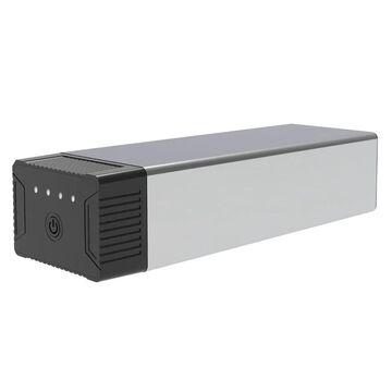 Luxor KwikBoost EdgePower Desktop Charging Station System for Laptops and Mobile Devices, Black - Constant Use Bundle (Black)