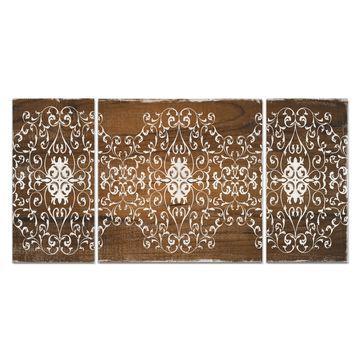 Wexford Home 'Boho Panel' Canvas Premium Multi Piece Art