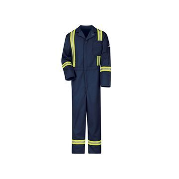 Bulwark Excel Long-Sleeve Flame-Resistant Classic Coveralls - Big & Tall