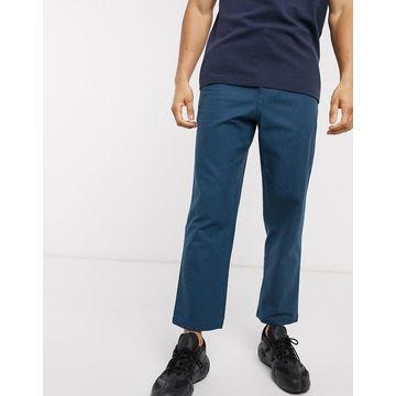 Farah Hawtin cropped pants-Blue