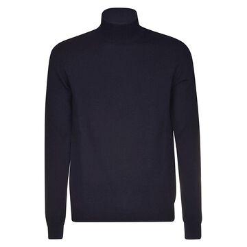 High-neck Ribbed Sweater Roberto Collina