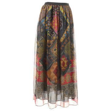 Etro Multicolour Silk Skirts