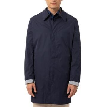 Tallia Men's Slim-Fit Double-Face Raincoat