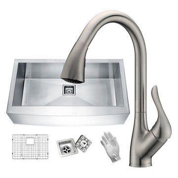 ANZZI Kitchen Sink Set