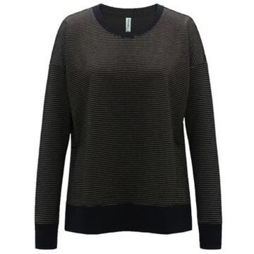 Ideology Metallic-Stripe Sweatshirt, Created for Macy's