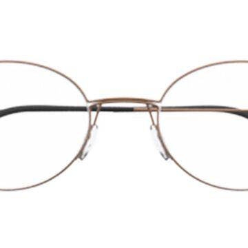Silhouette 5524 6340 Men's Glasses Black Size 48 - Free Lenses - HSA/FSA Insurance - Blue Light Block Available