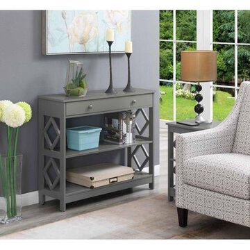 Convenience Concepts Diamond 1 Drawer Console Table