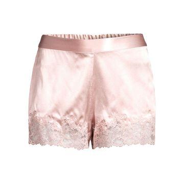 Josie Natori Sleek Stretch Silk Shorts