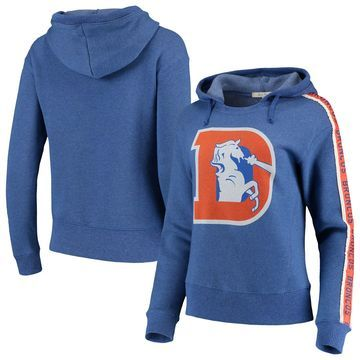 Denver Broncos Junk Food Women's Sunday Liberty Pullover Hoodie - Royal