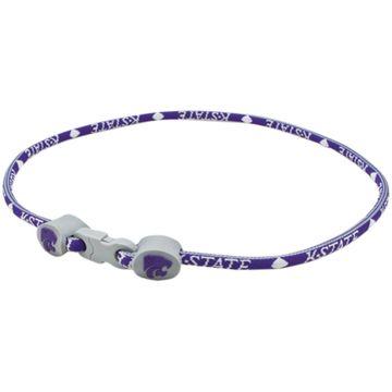 Kansas State Wildcats 18'' Titanium Sport Necklace - Purple/White