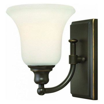 Hinkley Lighting 58780 Colette 1 Light Bathroom Sconce