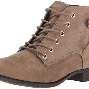 Call It Spring Women's Gitana Ankle Bootie Taupe 9 B US