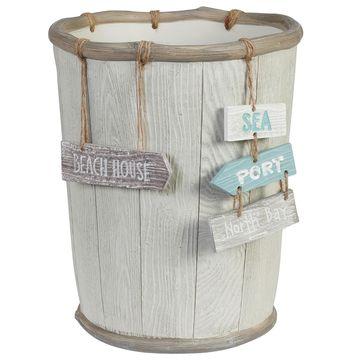 Creative Bath Driftwood Wastebasket