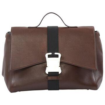 Christopher Kane Brown Leather Handbag