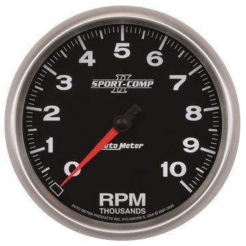 AutoMeter 3698 Sport-Comp II In-Dash Tachometer