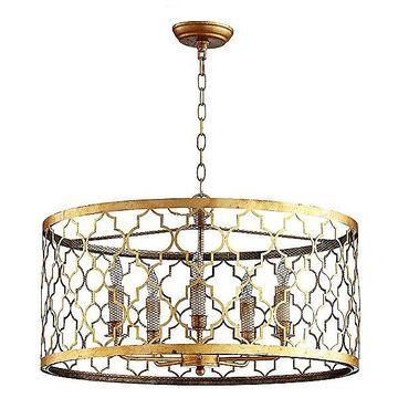 Cyan Design Romeo Pendant Light - Color: Gold - Size: 5 light - 06624